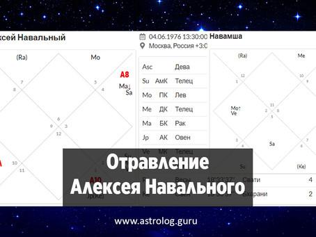 Отравление Алексея Навального. Прогноз астролога