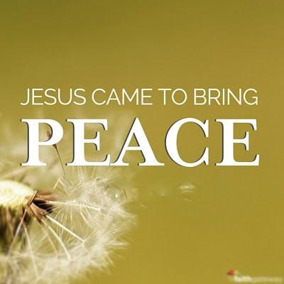 Christ Brings Peace