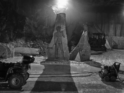 "FANTISCRITTI ""Underworld"" - Quarry deep in the Mountain > Temporary Murales"