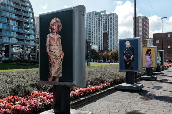 MILFS & GILFS Art-Installation Rotterdam