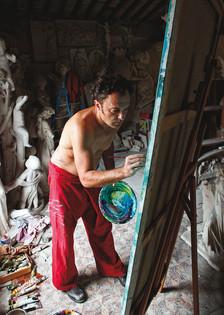 PHILIPPE DELENSEIGNE Old Studio of Cervetti
