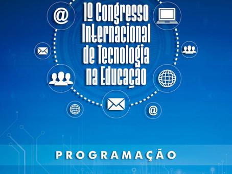 1º CONGRESSO INTERNACIONAL DE TECNOLOGIA NA EDUCAÇÃO