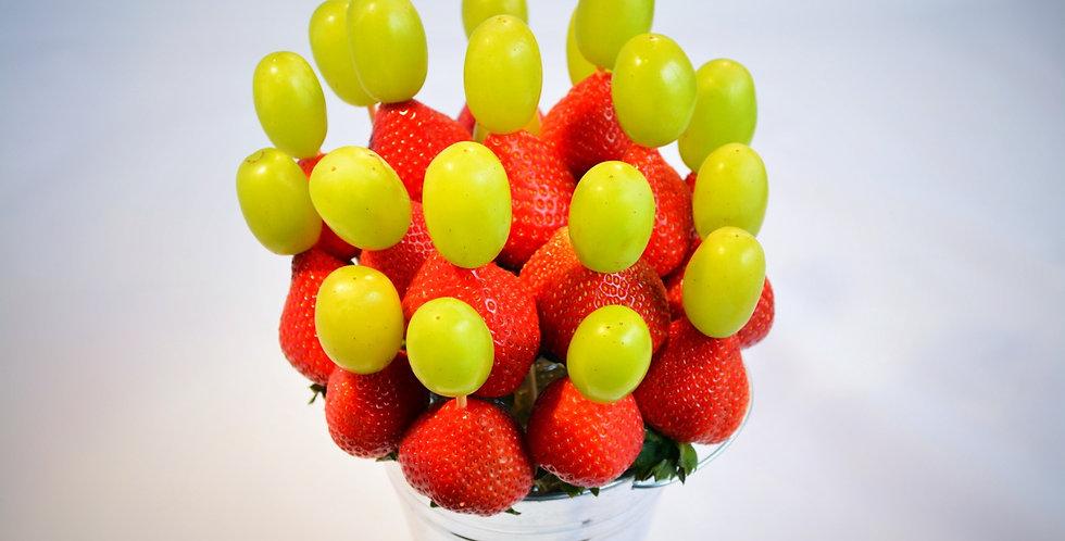 Strawberry and Grape Fondue