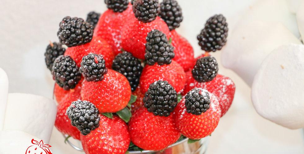 Strawberry and Blackberry Fondue