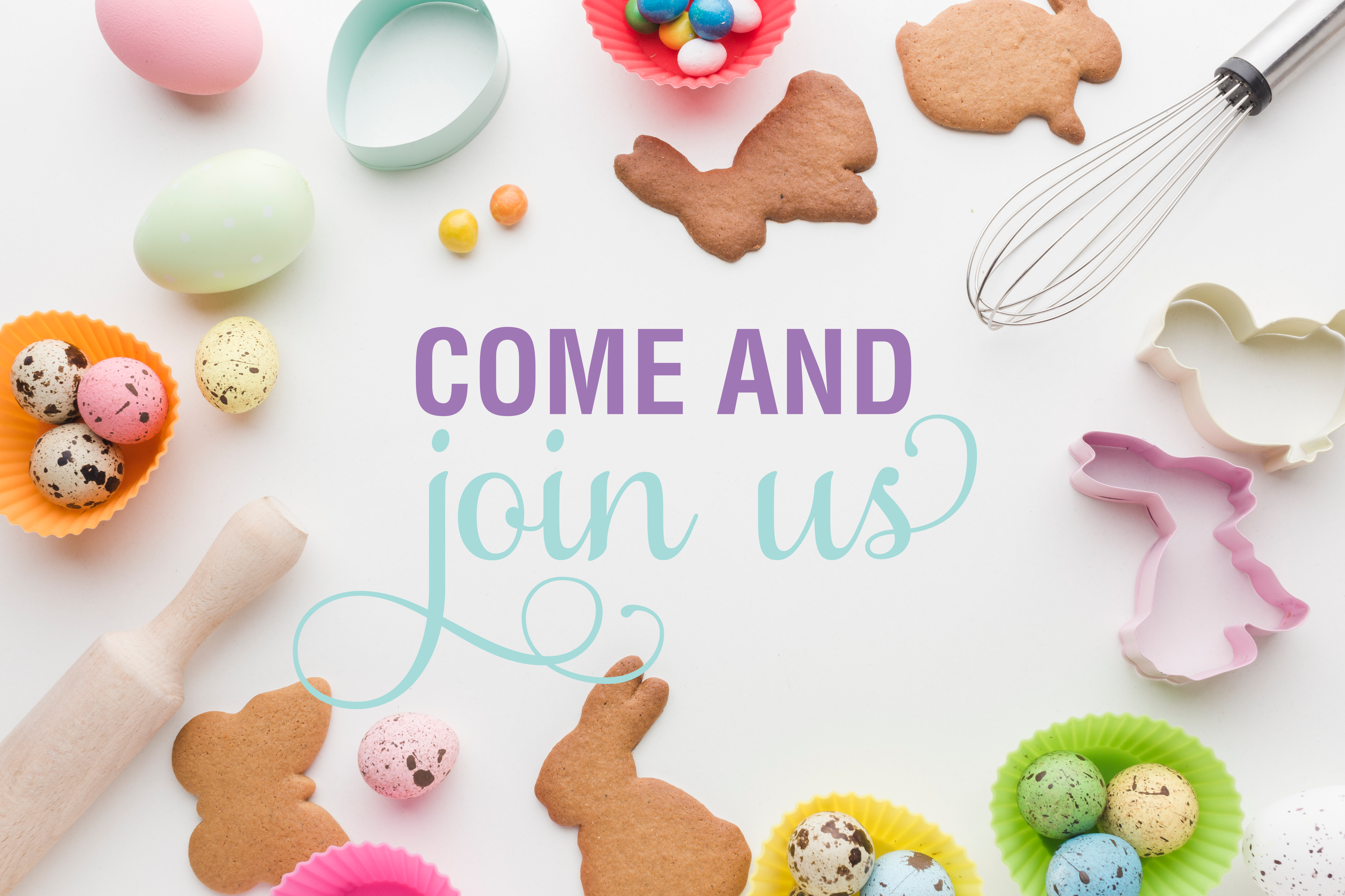 Easter Theme Cookie Decorating Class