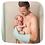 Thumbnail: Baby shower Glove Brique