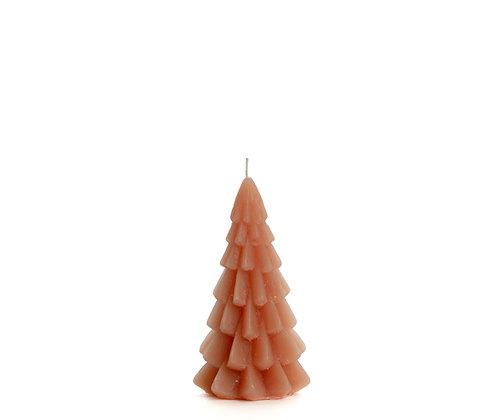 Kerstboom kaars XS Brique