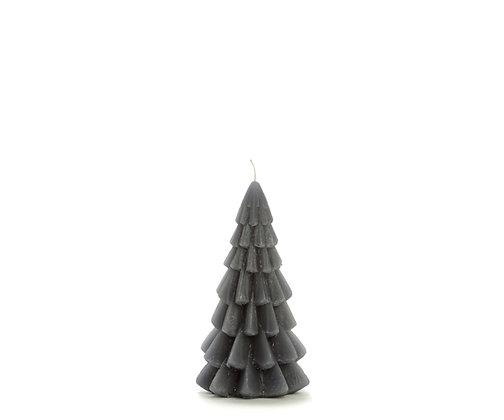 Kerstboom kaars XS Antraciet