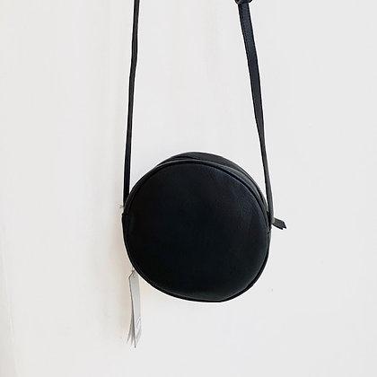 Ronde tas Zusss zwart