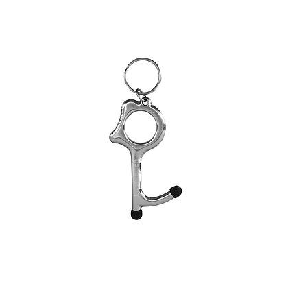 Last touch Key zilver