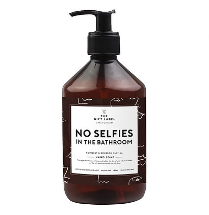 Handzeep No selfies in the bathroom