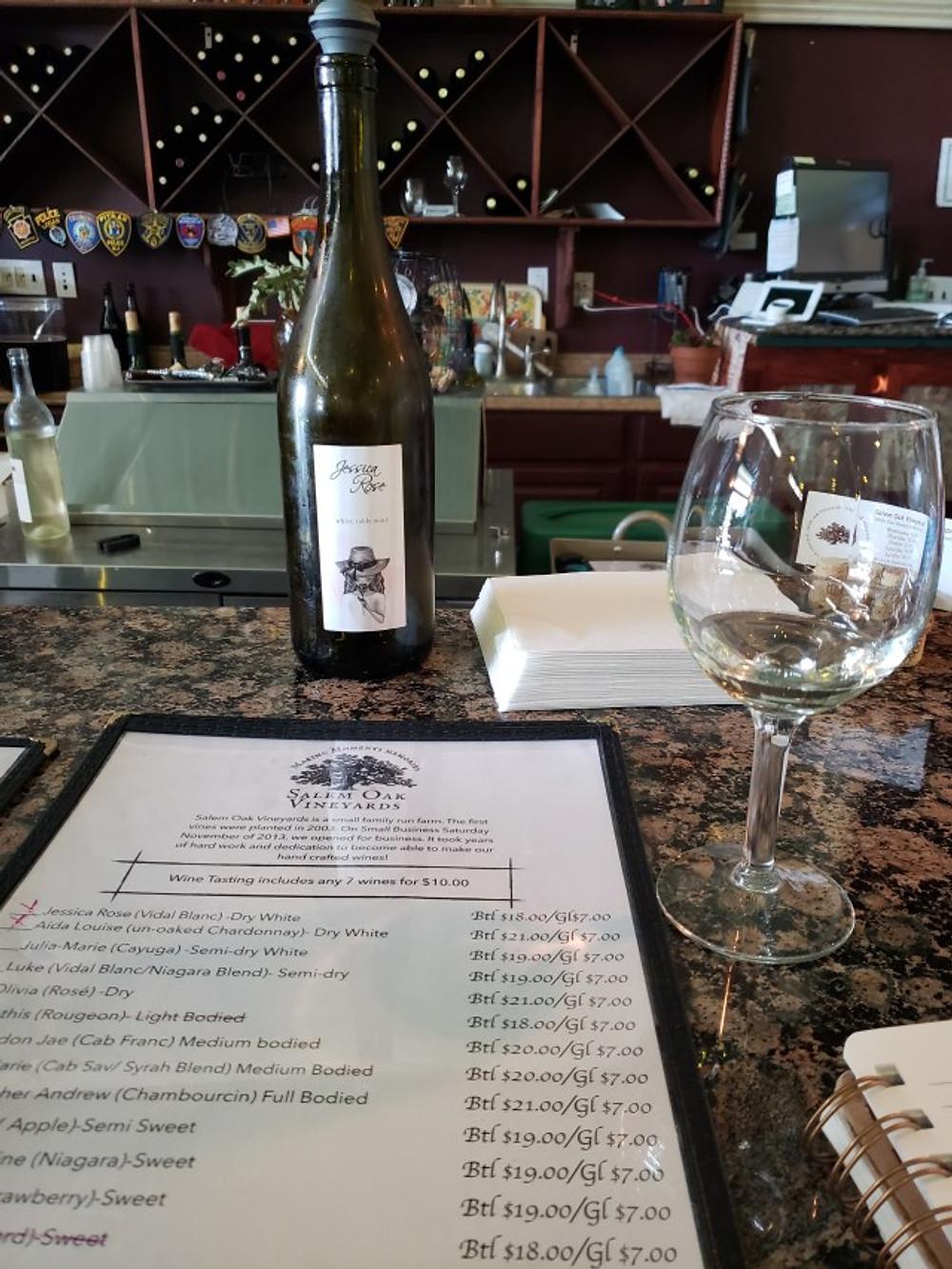 Salem Oak Winery