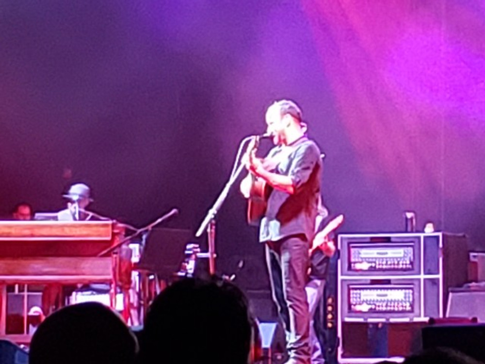 Dave Matthews and Buddy Strong.