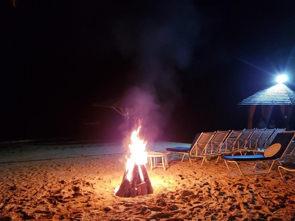 Bonfire at Jewel Dunn's River.