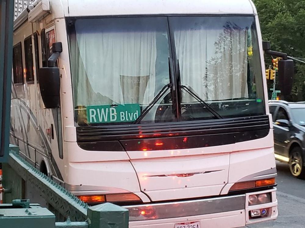 RWB's tour bus.