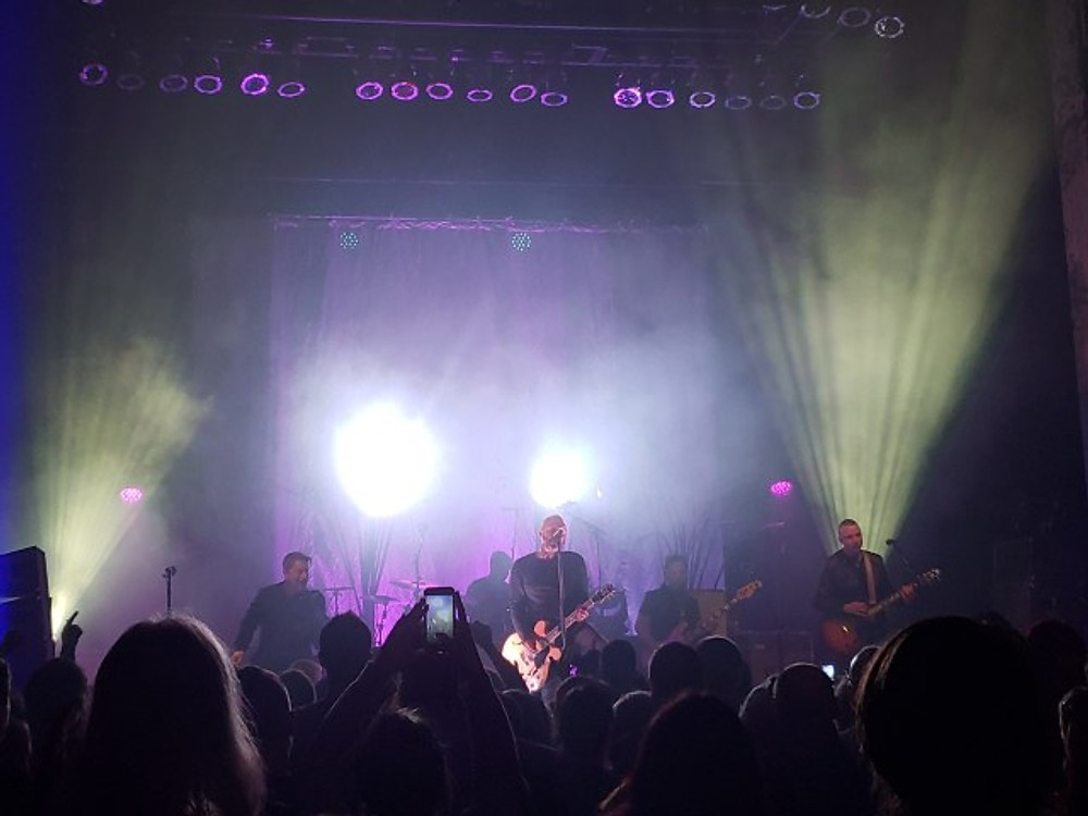 Blue October on stage at The Queen in Wilmington, DE.