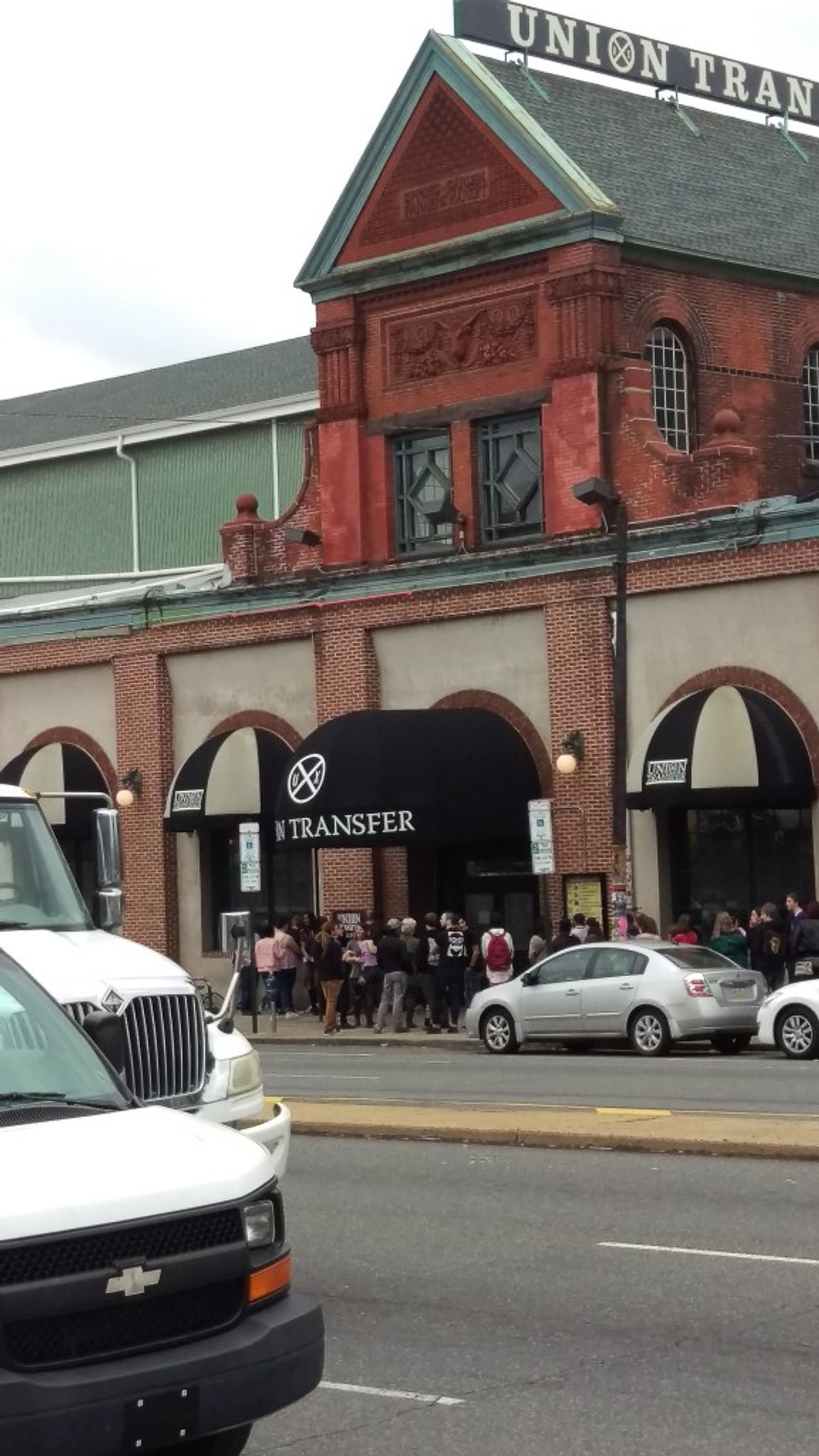 A picture of the outside of Union Transfer.