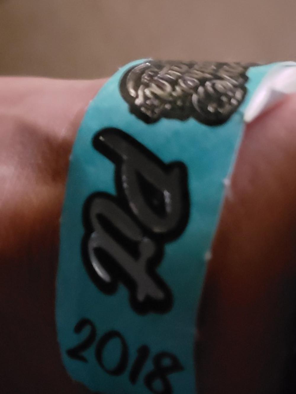My pit bracelet.