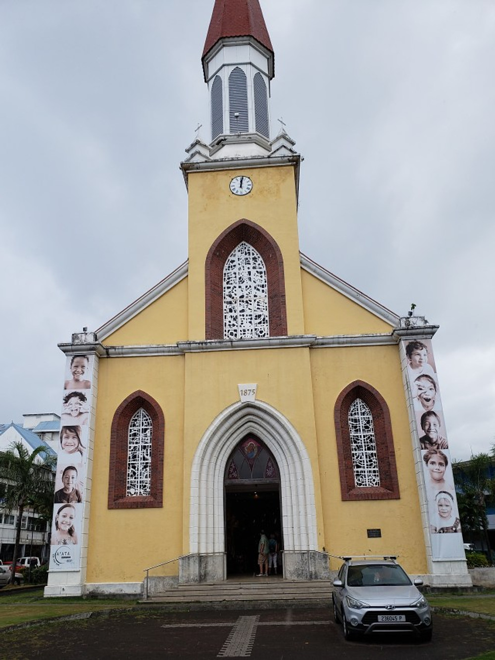 Notre Dame Cathedral in Papeete