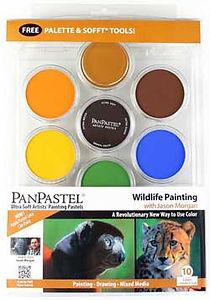 Jason Morgan Wildlife Panpastel Set