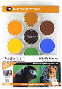 Jason Morgan Wildlife Panpastel Set