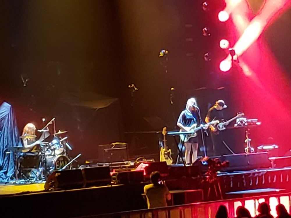 EMA on stage in Philadelphia.