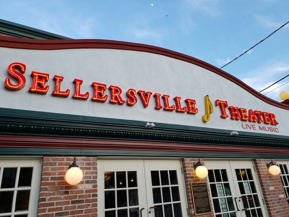 The Sellersville Theater.