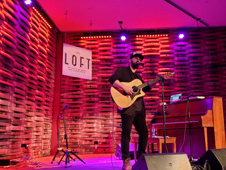 Josh Kelley Is Pure Entertainment At The Loft At City Winery!