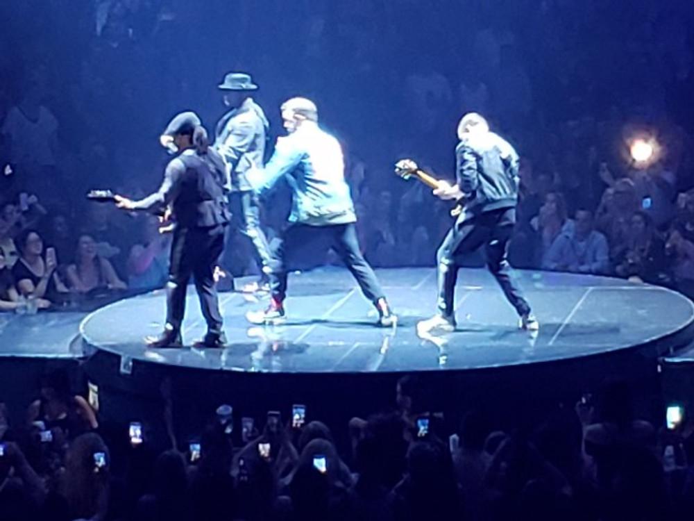 Justin Timberlake on stage.