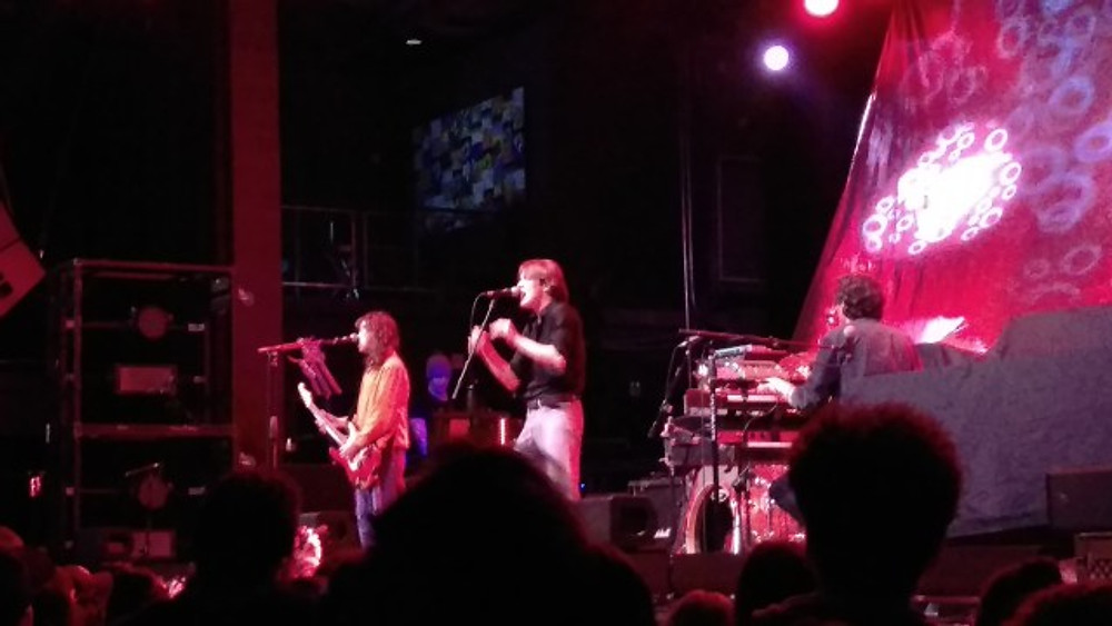 Irontom on stage at The Fillmore to open the show.