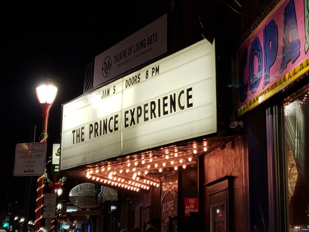 The Prince Experience marquee