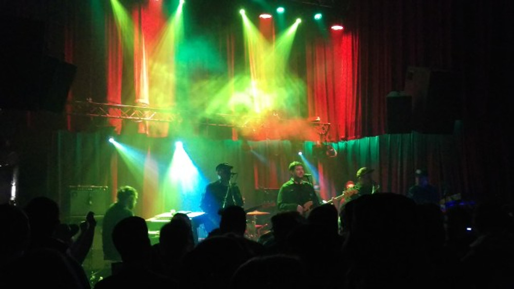 Giant Panda Guerilla Dub Squad on stage at The Ardmore Music Hall.