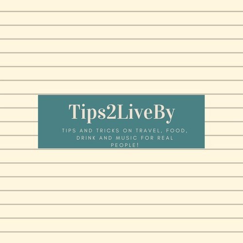 The Tips2LiveBy logo for my blog with my tag line.