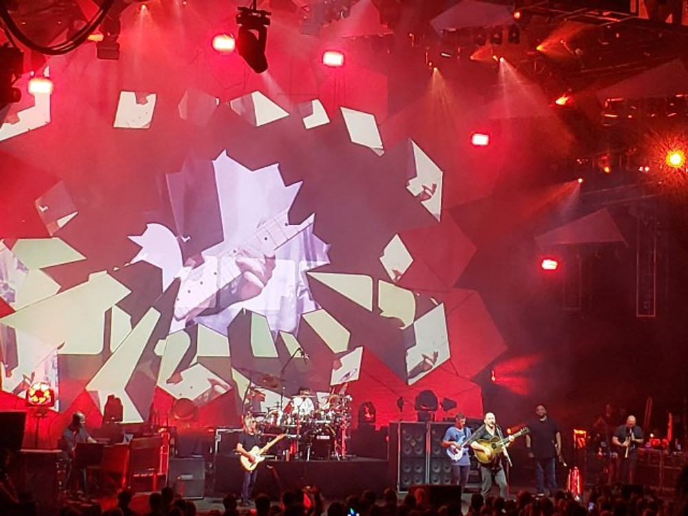 DMB on stage at SPAC.