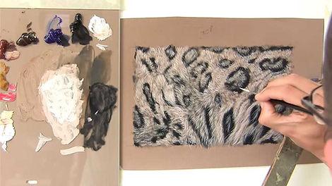 Snow Leopard Fur - Oils