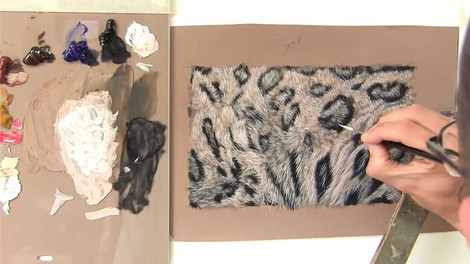 Snow Leopard Fur - Oils