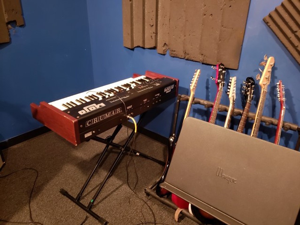 An organ that was recently donated to the Music Resource Center in Charlottesville.