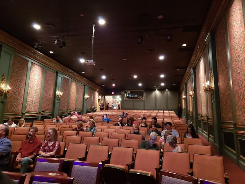 Inside of the Sellersville Theater.