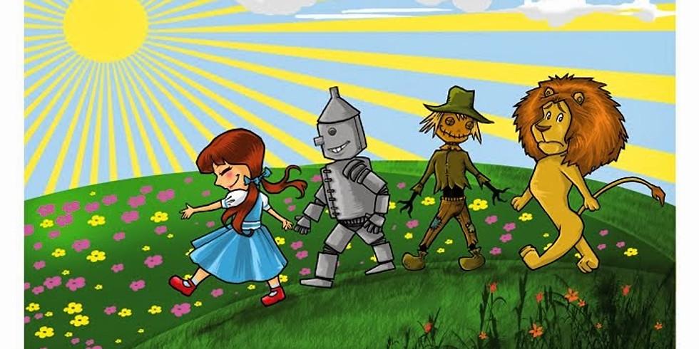 Merenda Selvaggia del Mago di Oz: scarpette rosse e città di smeraldo!