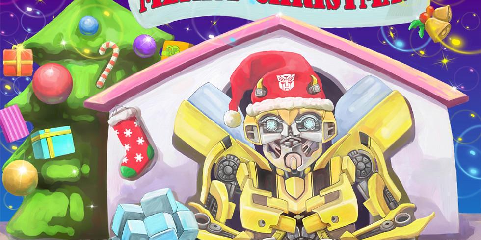 Merenda Selvaggia di Robot-Natale:trasformiamoci con Bumblebee!