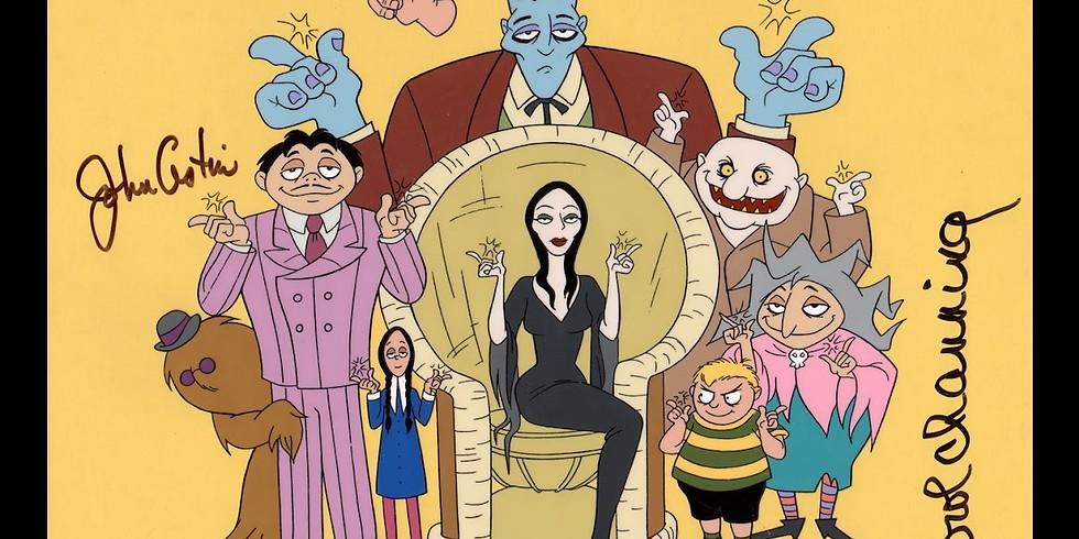 Merenda Selvaggia della Famiglia Addams: parenti e altri orrori!