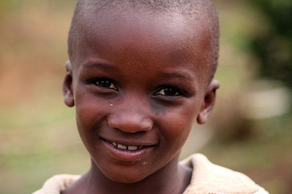 criança que sorri