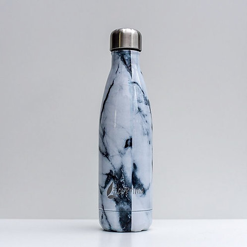 Drinkfles / Thermosfles - Marble White