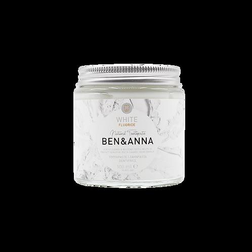 Ben&Anna Tandpasta - White Fluoride