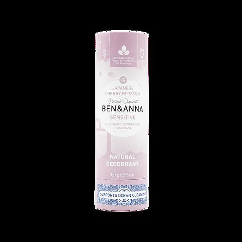 Deodorant Ben&Anna - Sensitive Japanese Cherry Blossom
