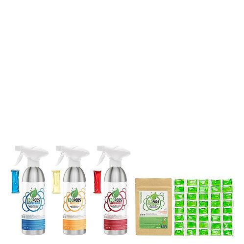 Ecopods Alu Starter Pack Small
