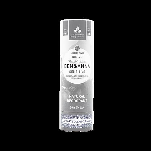 Deodorant Ben&Anna - Sensitive Highland Breeze