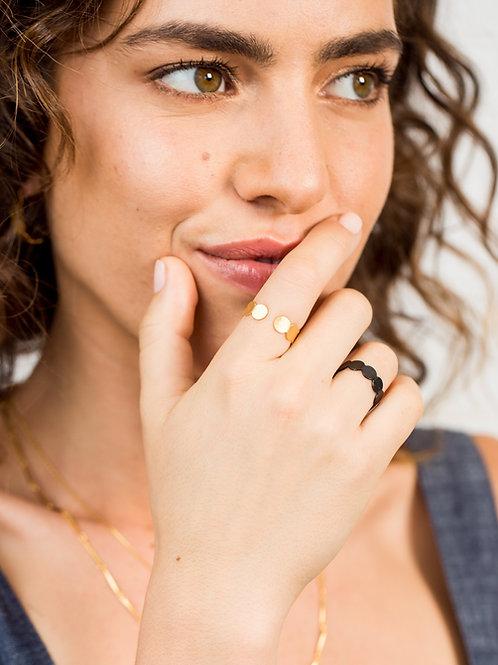 טבעת דוט עבה