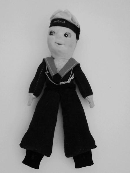 Vintage Cruise Souvenirs Jolly Boy Sailor Dolls