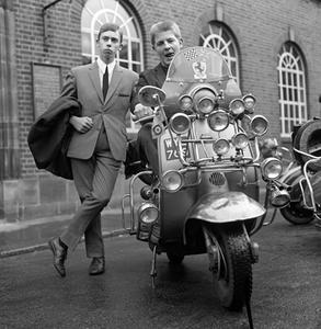 60s Mod Tailored Suit